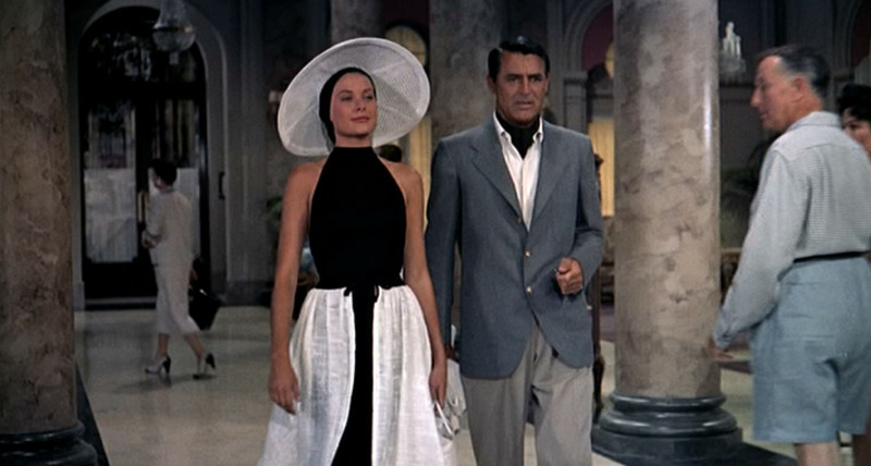"| ♕ |  Grace Kelly and Cary Grant in ""To Catch a Thief"""