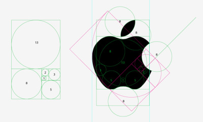 Apple: in the middle of the Fibonacci's Golden Section  Também há artigos em português no Wikipédia.