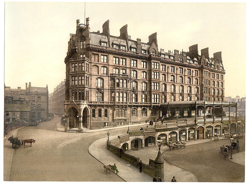 Saint Enoch's Station, Glasgow, Scotland