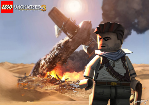 LEGO: Uncharted Drake's 3 // by Either Ardrey