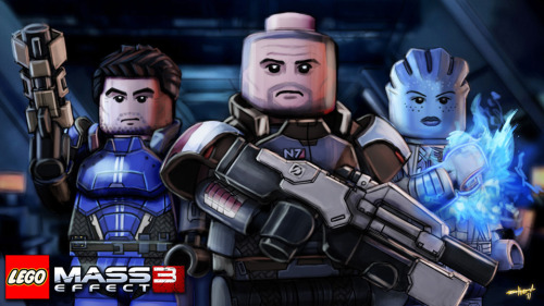 LEGO: Mass Effect 3 // by Either Ardrey