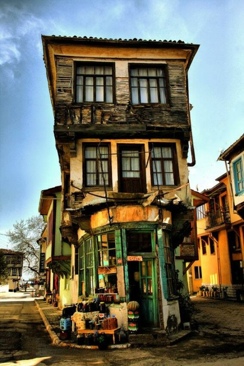Old Village House in Istanbul, Turkey (via Amazing Places - Asia)