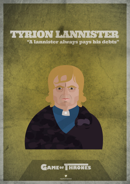Game of Thrones: Tyrion Lannister by Nacho Varone