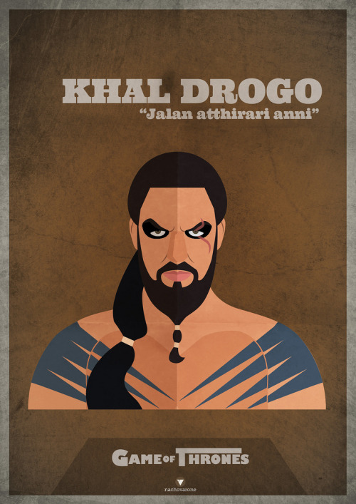 Game of Thrones: Khal Drogo by Nacho Varone