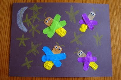 "(via I HEART CRAFTY THINGS: Story time Tuesday ""The Very Lonely Firefly"" with Craft)"