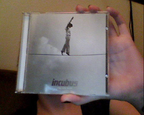 my girlfriend just came home with a present..new incubus! i.love.her.