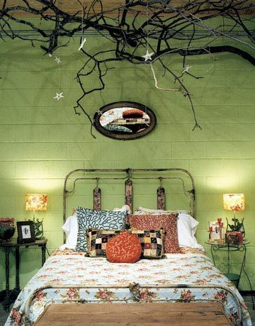 need a tree branch in my bedroom.