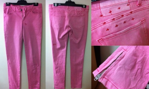 KSUBI ANKLE ZIP SKINNY JEANSSize: 8Colour: PinkCondition: Brand newRRP: $200+Selling for: $60 SOLD