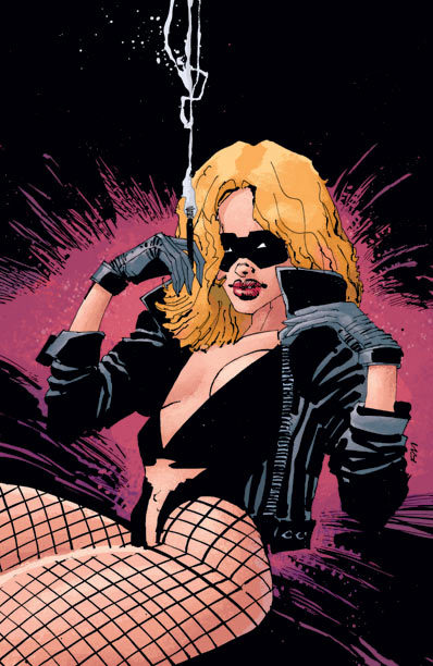 Black Canary - by Frank Miller