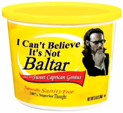 bcrb:  I Can't Believe It's Not Baltar