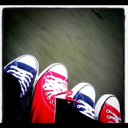 Sponso Converse (Taken with Instagram at Parc Du Château)