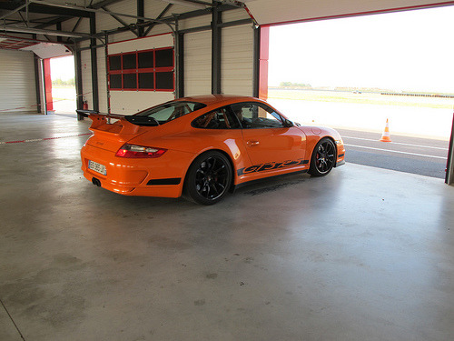 Waiting for my big entry Starring: Porsche 911 GT3 RS (by monsieur Burns)