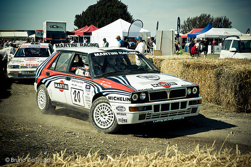 Back in business Starring: Lancia Delta HF Integrale (by tienvijftien)