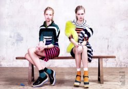 Child in Time /  Vogue China / Model:Hailey Clauson & Lindsey Wixson