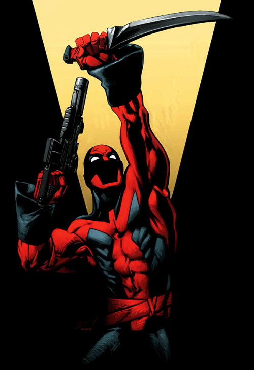 comicartappreciation:  Deadpool // Mark Bagley