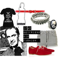 If my boyfriend did fashion.. by MadameKnickers featuring bangle bracelets