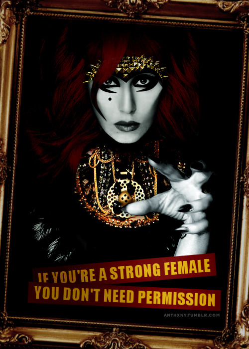 anthxny:  If You're a Strong Female…
