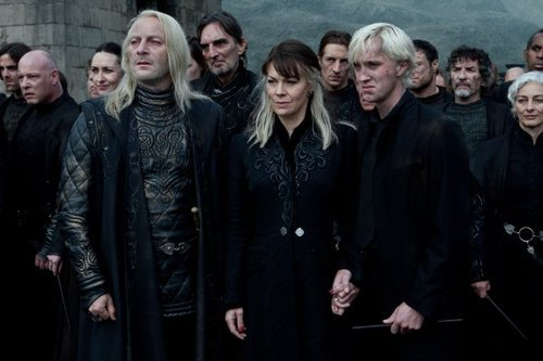 I will always reblog Draco's pained expression of holding his Mommy's hand after being hugged by Voldemort and being forced to join the Death Eaters in front of half the Wizarding Population