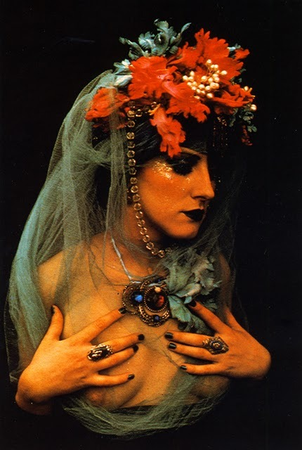 My Bohemian Aesthetic fireandether:  Irina Ionesco, from 'How to Photograph Women' by Dixons