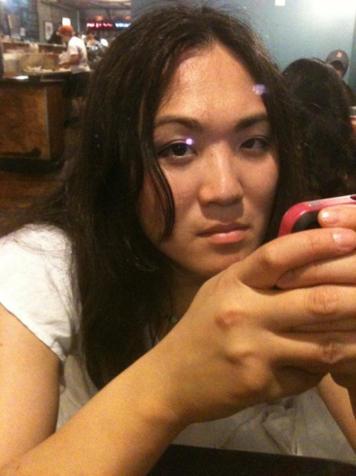 GPOY. Me pissed at my friend. I had no idea I do this face. But apparently I do it all the time.