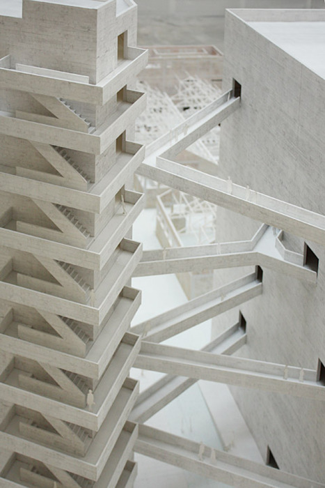 stripesandplanes:  theabsolution:  São Paulo cultural center project by Lina Bo Bardi (Brazil)  This.