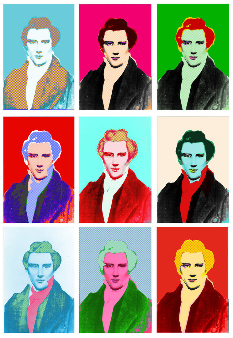 joseph smith pop art by dallon weekes