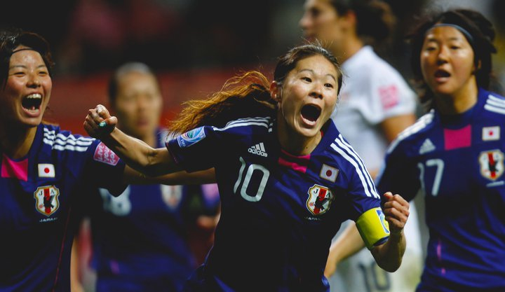 2011 Women's FIFA World Cup Champions - Japan.