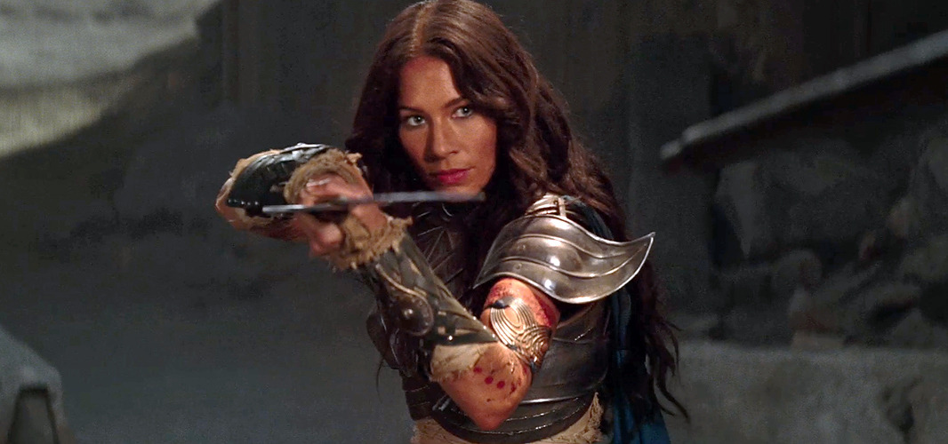 Lynn Collins as Dejah Thoris in Andrew Stanton's John Carter of Mars - first teaser trailer.