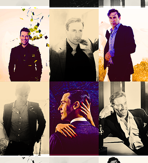 Top 6 pictures → Jon Hamm    asked by aliakbar01