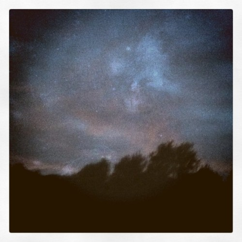 night sky (Taken with instagram)