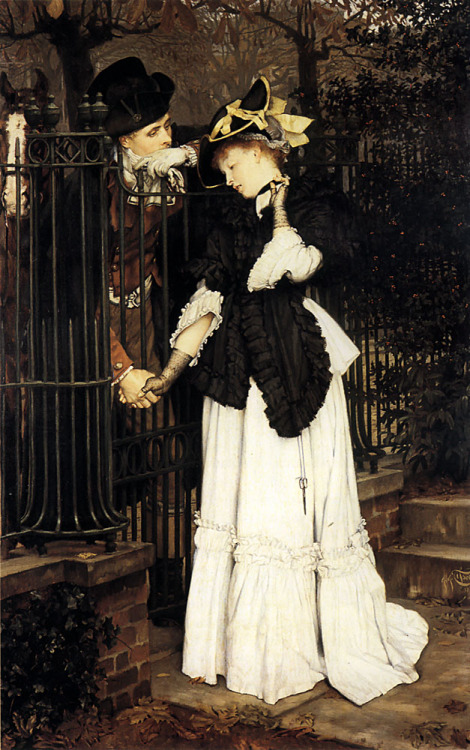 James Jacques Joseph Tissot (1836-1902) – The Farewell