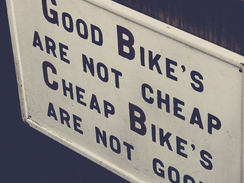 eidetic-memory:  Very true  I'm buying a new bike right now -_-