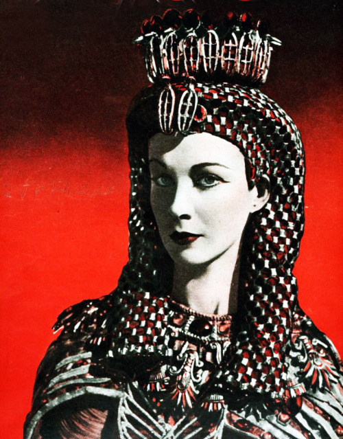 "Vivien Leigh in ""Caesar and Cleopatra"" 1945"