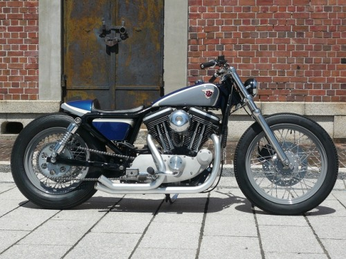 Another classy Harley from Gravel Crew. (currently for sale)