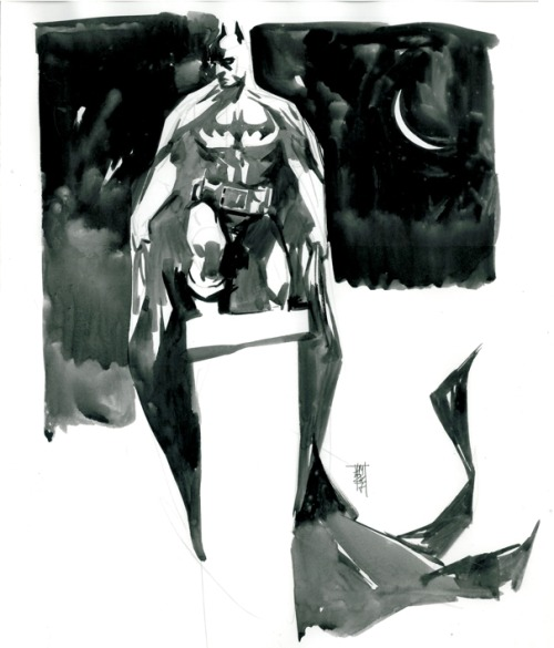 awyeahcomics:  Batman by Alex Maleev  FADSJKLASDLJKAS. This is incredible.