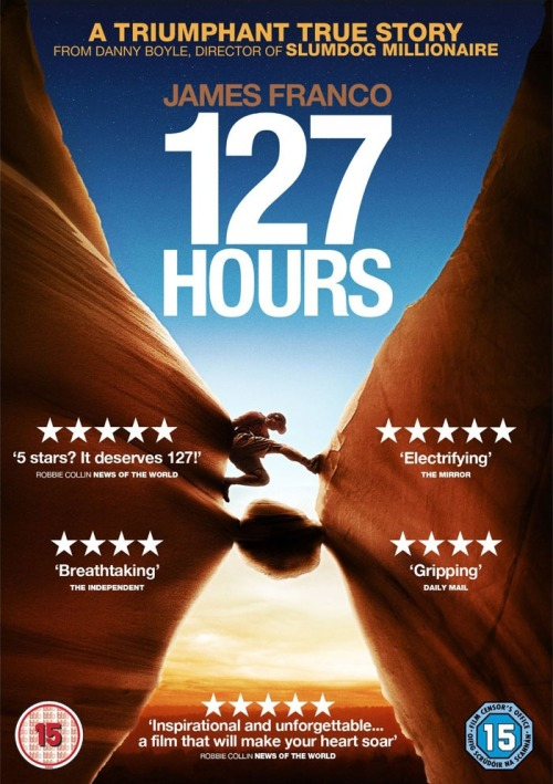127 Hours - DVDActive/News