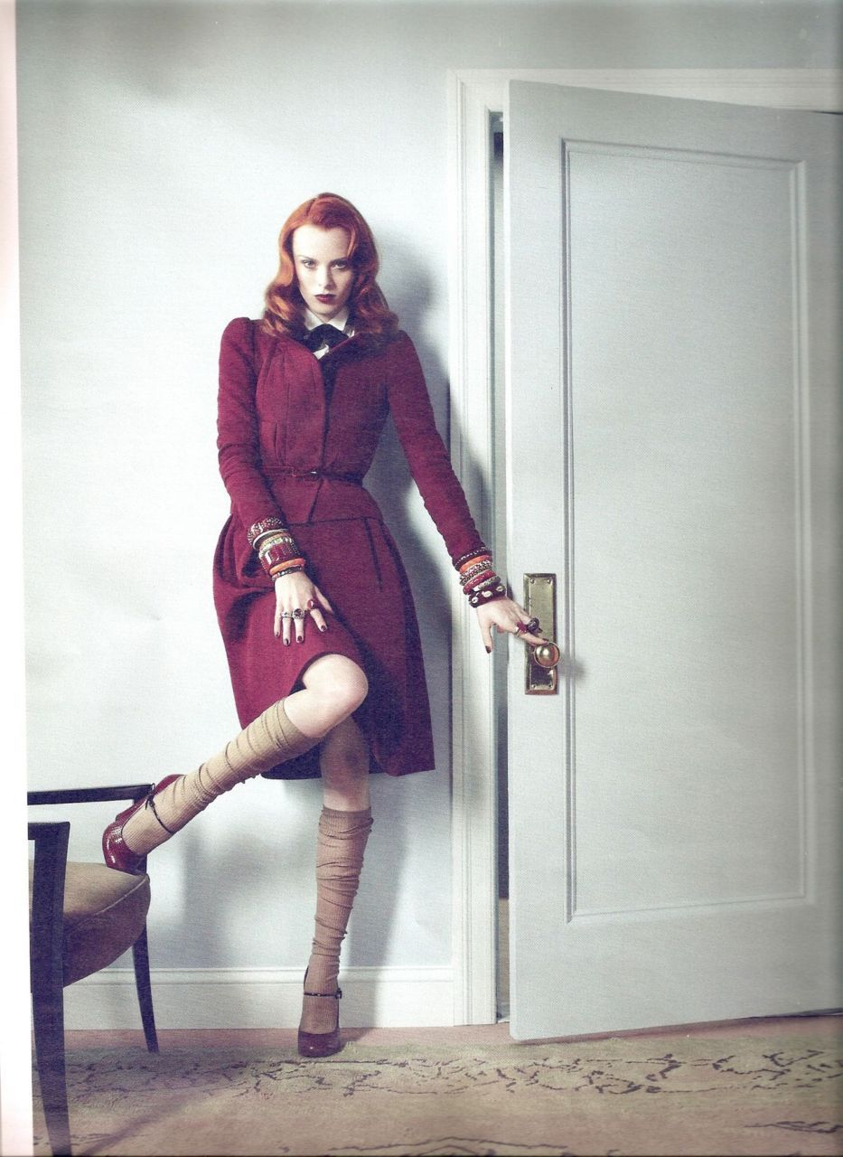 Karen Elson - W Magazine US August 2011