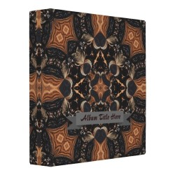Tribal Amazon Batik Shaman Album Binder by Paperstation