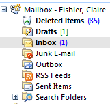 There is a phantom email haunting my Inbox.