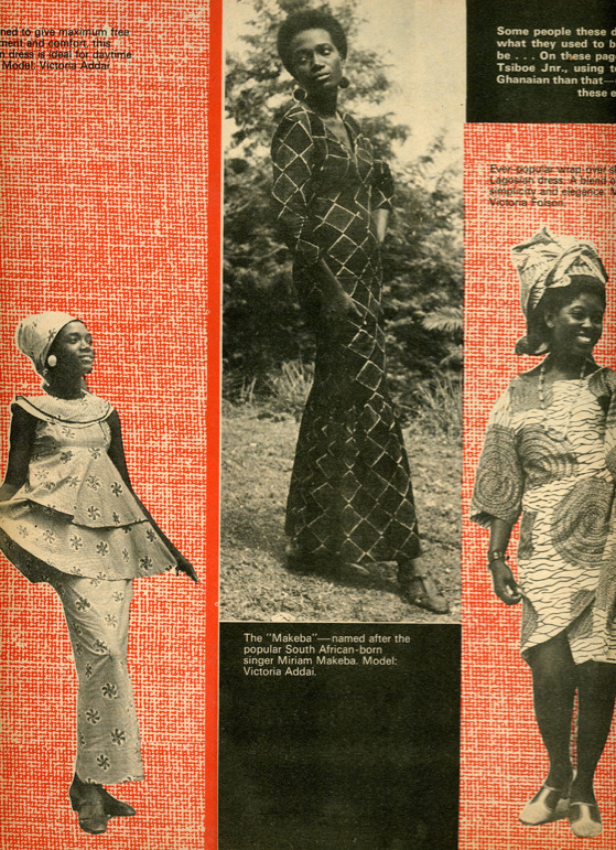 Fashion in GhanaMore 1960's fashion from DRUM magazine