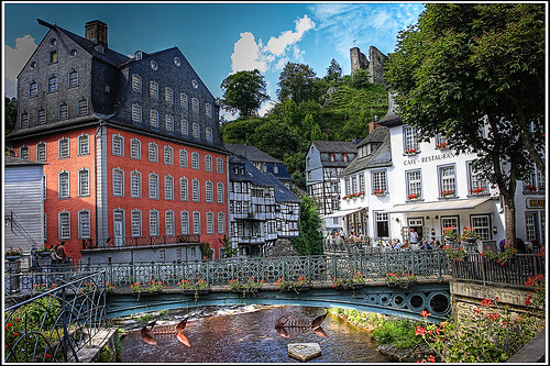 Monschau, Germany (by SergeK )