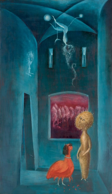 peira:  Leonora Carrington:  Marigold, Marigold, Tell Me your Answers Do (1952)