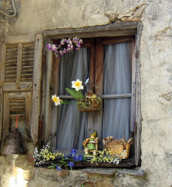 ohtobesimplyme:  SWEET WINDOW IN APRICALE by Eldalicious on Flickr.