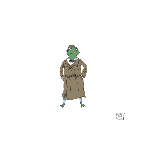 "I Heart the 80's 18 of 30: Kermit from , ""The Great Muppet Caper"""