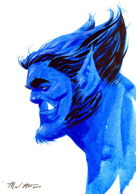 sciencewithhankmccoy:  Beast by Mike Hawthorne  .