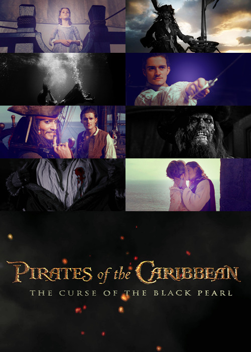 MY TOP 300 FAVOURITE MOVIES (in no particular order):  001 - Pirates of the Caribbean - The Curse of the Black Pearl