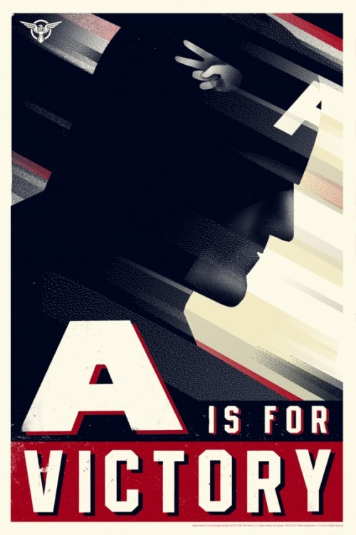 auralenti:  (via Ass Kicking Olly Moss CAPTAIN AMERICA And HYDRA Propaganda Posters From Mondo! | Badass Digest)