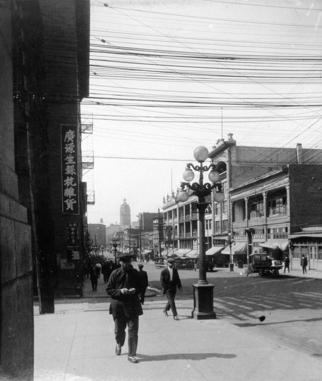 Chinatown, 1923 Source: DL Hollandy, Keystone-Mast Collection, UCR/California Museum of Photography, University of California                         at Riverside.
