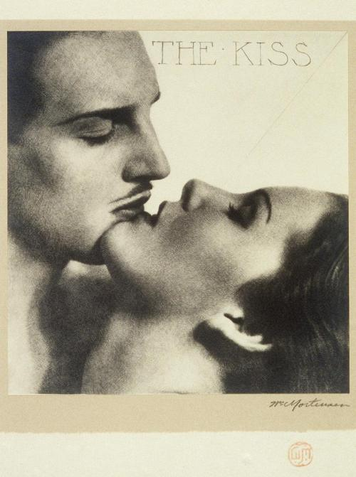 ratak-monodosico:  The Kiss ca. 1930, William-Mortensen.  American (1897-1965)
