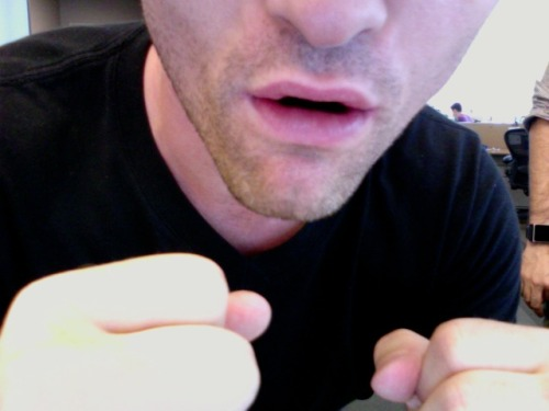 joshruben:  My impression of Christian Bale's lips at the end of the Dark Knight Rises teaser